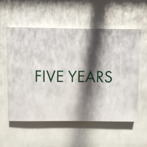 NN Five Years