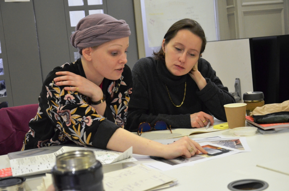 Claudia with Romi Kiessling, 2019